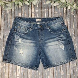 Mudd Distressed Denim Shorts  - Sz 11